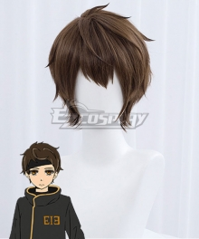 Tower of God Jyu Viole Grace Twenty-Fifth Baam Brown Cosplay Wig