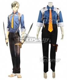 Tales of Xillia 2 Ludger Will Kresnik Cosplay Costume