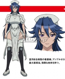 Triage X Sayo Hitsugi Cosplay Costume