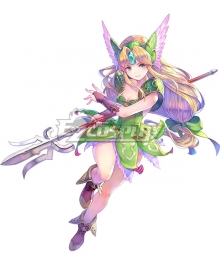 Trials of Mana 3 Riesz Cosplay Costume