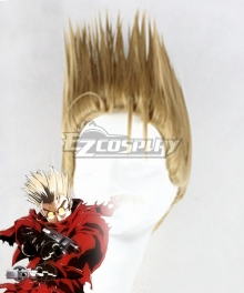 Trigun Vash the Stampede Golden Cosplay Wig