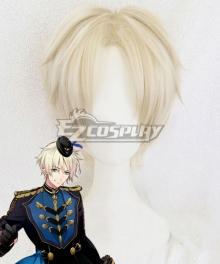 Tsukiuta.THE ANIMATION 2 Aoi Satsuki Six Gravity White Cosplay Wig