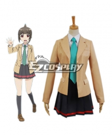 Locodol Yui Mikoze Uniform Cosplay costume