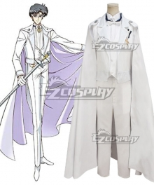 Tuxedo Mask Mamoru Chiba Wedding Dress White Cosplay Costume