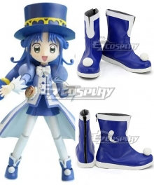 Twin Princess of Wonder Planet Fushigiboshi no Futagohime Rein Blue Cosplay Shoes