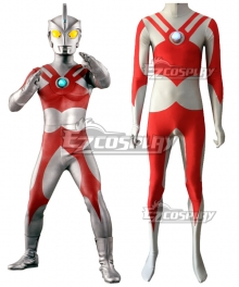 Ultraman Ace Zentai Jumpsuit Cosplay Costume