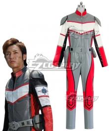 Ultraman Dyna Super GUTS Shin Asuka Cosplay Costume