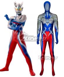 Ultraman Zero Zentai Jumpsuit Cosplay Costume