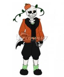 Undertale AU Pumpkin Tale Punpkin Sans Cosplay Costume