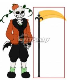 Undertale AU Pumpkin Tale Punpkin Sans Cosplay Weapon Prop
