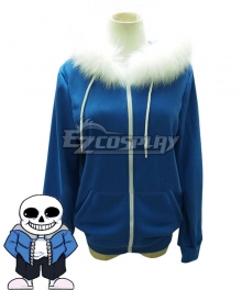 Undertale Sans Coat Cosplay Costume