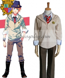 Uta no Prince-sama Syo Kurusu Uniform Cosplay Costume