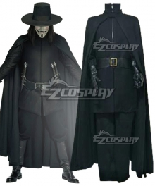 V for Vendetta V Cosplay Costume