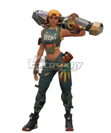 Valorant Raze Cosplay Costume