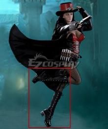 VAN HELSING VS. THE MUMMY OF AMUN-RA Liesel Van Helsing Black Shoes Cosplay Boots