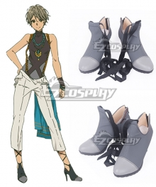 Violet Evergarden Iris Cannary Gray Cosplay Shoes