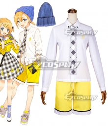 Vocaloid 10th Anniversary Len Kagamine Cosplay Costume