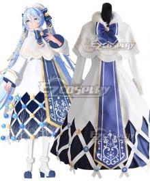 Vocaloid 2021 Snow Miku Hatsune Miku Cosplay Cosutme