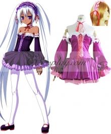 Vocaloid Aku Yamine Cosplay Costume
