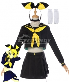 Vocaloid BRING IT ON Rettou Joutou Rin Kagamine Cosplay Costume