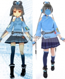 Vocaloid China Project Luo Tianyi Cosplay Costume