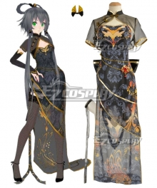 Vocaloid China Project Luo Tianyi TDA Cheongsam Dress China Canary Cosplay Costume