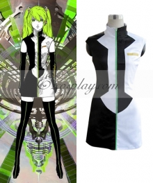 Vocaloid Hard-R.K.Mix Hatsune Miku Meltdown Cosplay Costume