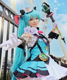 Vocaloid Hatsune Miku 2019 Magical Mirai Cosplay Costume