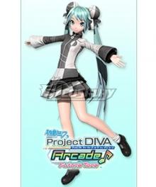 Vocaloid Hatsune Miku Conflict Cosplay Costume