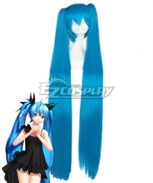 Vocaloid Hatsune Miku Deep Sea Girl Blue Cosplay Wig
