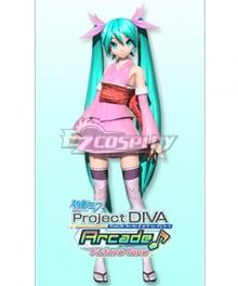 Vocaloid Hatsune Miku Miyabi Elegant Cosplay Costume