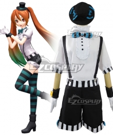 Vocaloid Hatsune Miku Mrs Pumpkin Halloween Cosplay Costume