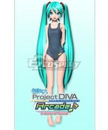 Vocaloid Hatsune Miku Swimwear  Cosplay Costume