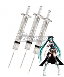 Vocaloid Hdge Technical Statue Hatsune Miku Needles Cosplay Accessory Prop