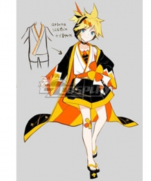 Vocaloid Kagamine Len 2020 Magical Mirai Cosplay Costume