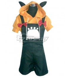 Vocaloid Len Halloween Pumpkin Cosplay Costume