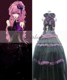 Vocaloid Sandplay Singing of The Dragon Luka Cosplay Costume