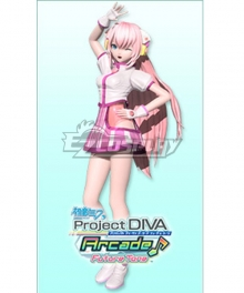Vocaloid Megurine Luka Cyber Nation Cosplay Costume
