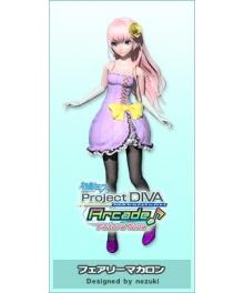 Vocaloid Megurine Luka Fairy Macaron Cosplay Costume