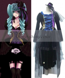 Vocaloid Sandplay Singing of The Dragon Miku Cosplay Costume