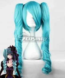 Vocaloid Miku Sandplay Singing of the Dragon Cosplay Wig