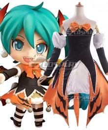 Vocaloid Nendoroid 448 Hatsune Miku Halloween Ver. Cosplay Costume