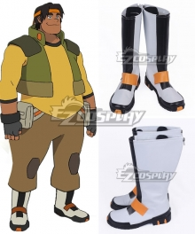 Voltron: Legendary Defender Hunk Garrett Gray Shoes Cosplay Boots
