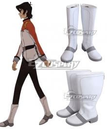 Voltron: Legendary Defender Season 8 Allura Shiro Keith Pidge Lance Hunk White Shoes Cosplay Boots