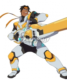 Voltron: Legendary Defender Season 8 Hunk Battle Suit Cosplay Costume