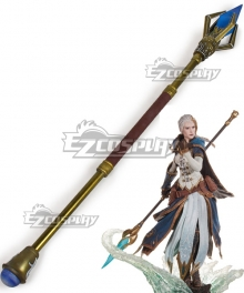 World of Warcraft Jaina Proudmoore Staff Cosplay Weapon Prop