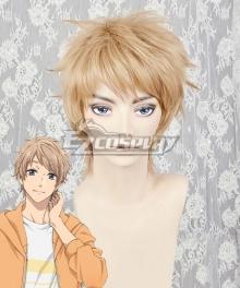 Wotakoi: Love is Hard for Otaku Naoya Nifuji Brown Cosplay Wig