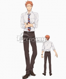 Wotakoi: Love Is Hard For Otaku Taro Kabakura Cosplay Costume