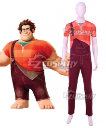 Disney Wreck It Ralph Ralph Cosplay Costume