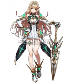 Xenoblade Chronicles 2 Mythra Cosplay Costume